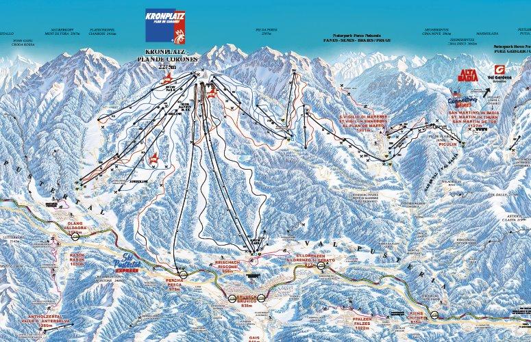 Kronplatz_ski_map